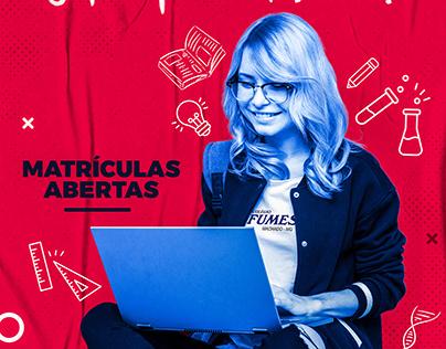 Colégio FUMESC | Campanha Publicitária