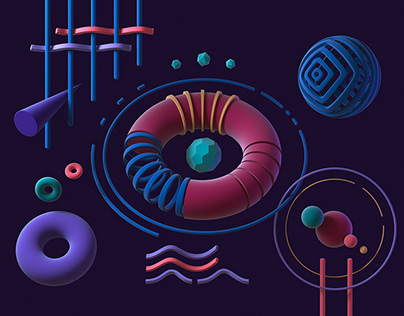 MADAR STUDIO - Website visuals (Animated)