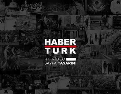 Haber Türk - Video Web & Mobil Page