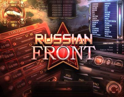 Russian Front | UI & HUD Design