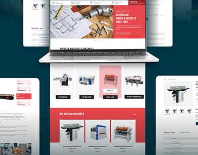 Woodtech - Shopify Design & Development
