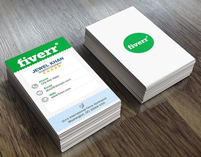 Fiverr Business Card