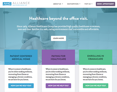 Alliance Healthcare Website