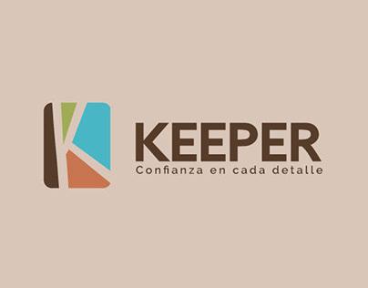 Keeper: Manual de Uso de Marca