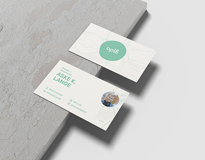 Oplo Business Cards