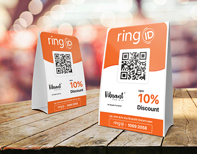 Promotional print item product for ringID