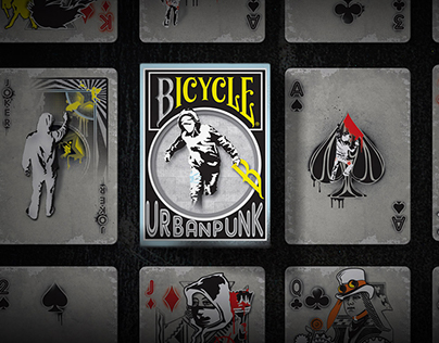 Urban Punk Playing Cards