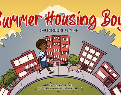 Summer Housing Boy Children's Book
