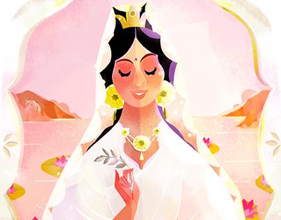 The Goddess Guanyin 觀世音菩薩