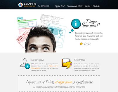 CMYK Publicidad y Diseño de páginas web y SEO