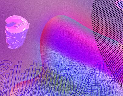 Skillshare- Baugasm- inspired poster
