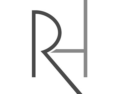 RH initials logo