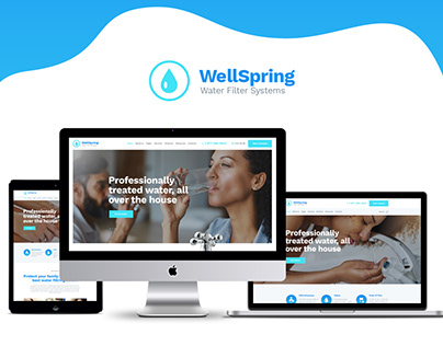 Water Filters & Drinking Water Delivery WP Theme