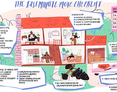 HireAHelper: The Last Minute Move Checklist