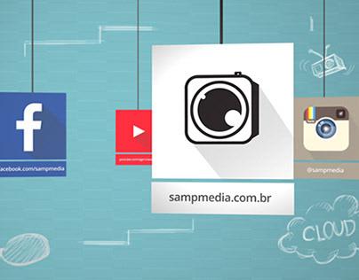 #MotionGraphics - Social Media - SampMedia