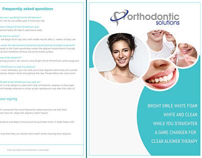 Dental Poster & Standee Design