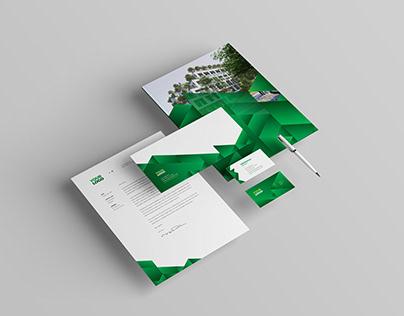 Green Ecologic Stationery