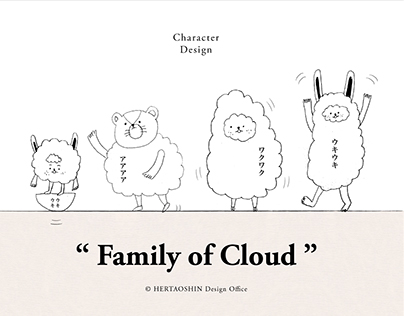 Family of Cloud|Character Design