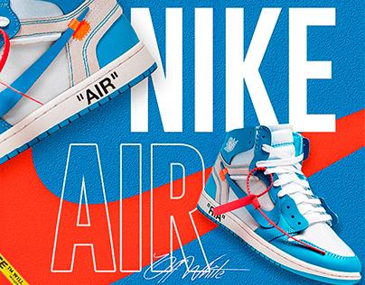 Nike Air Jodan b2b Off White - Arte