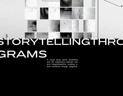 Storytelling through collage & diagrams