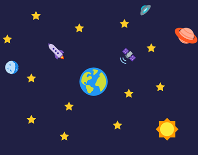 Space & Astronomy icon set