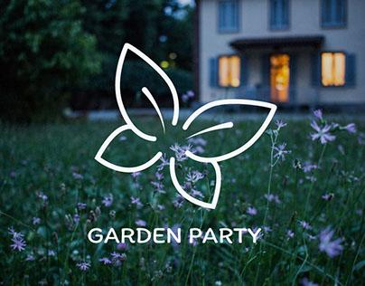 Identité graphique pour Garden Party