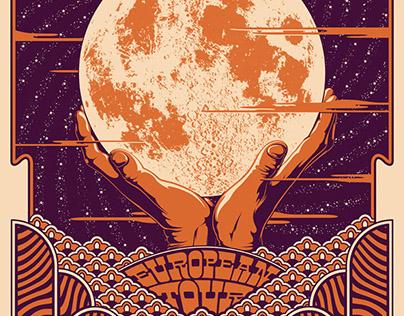 Tour Posters: Night Beats, Orange Revival & Stonerider