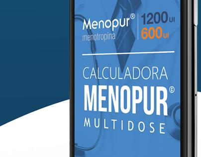 Calculadora Menopur © | Ferring Pharmaceuticals