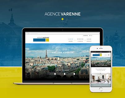 Agence Varenne - Refonte Web