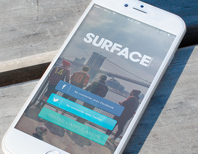 Surface Mag - L'application mobile