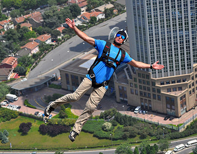 Base Jumping in Istanbul