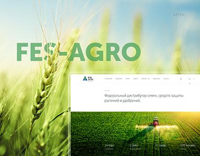 Corporate website for agro-industrial enterprise