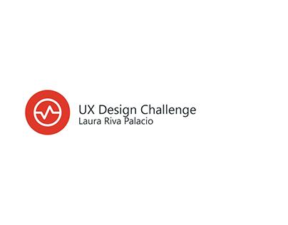 UX Design Challenge
