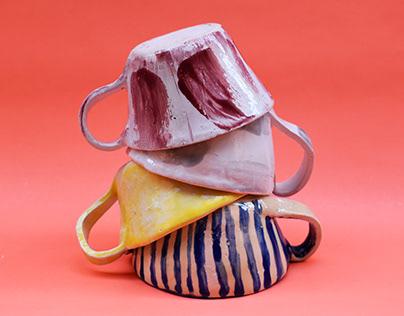 Colección de piezas en cerámica