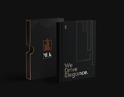 MLK Real Estate branding
