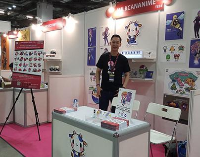 MILKCANANIME Exhibitor Booth Singapore Comic Con 2019