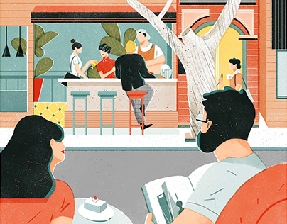 Illustration for Airbnb