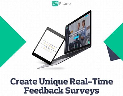 Pisano.co  Real Time Feedback Surveys Pinterest Post