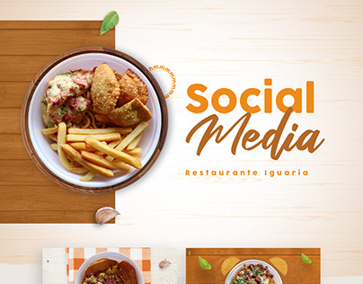 Social Media - Restaurante Iguaria