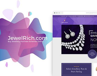 JewelRich | Website UI