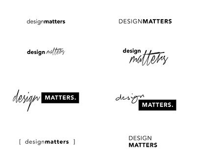 Design Matters Wordmark