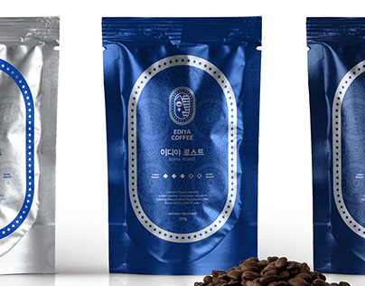 EDIYA COFFEE - Visual Identity concept design