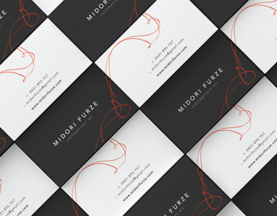 Midori Furze artist branding & print designs