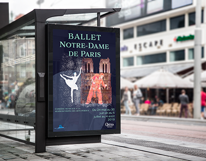 Poster ballet Notre Dame de Paris