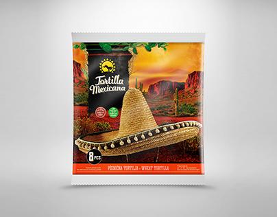 Packaging design - Mexican food / Tortillas