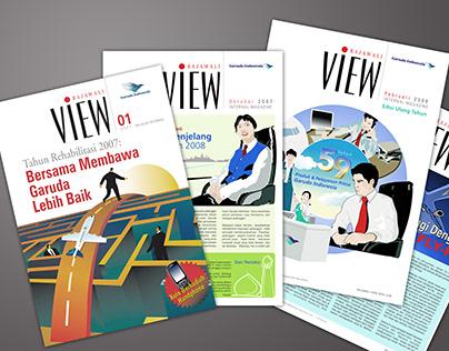 Internal Magazine Garuda Indonesia