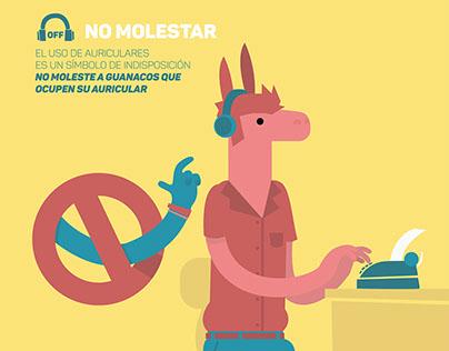 Código de convivencia ilustrado, Coworking Guanaco
