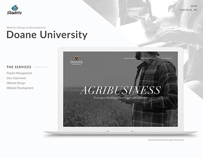 Doane Agribusiness Microsite design