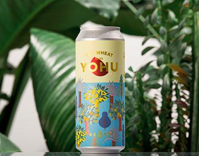 YOHU beer 柚虎啤酒