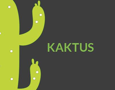 KAKTUS - web design